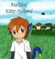 Stalking Kitty-Richard by PhantomCrazed