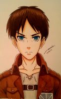 Eren Jaeger (Copic Ciao) by Juventusleo