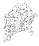Ambuur's Birthday Picture! (No Colour) by ZeldasTwin