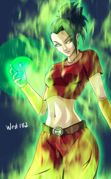 Brolly Female DRAGON BALL SUPER by west182