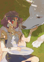 Princess Mononoke by meccchi