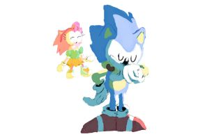 Amy meets Sonic by bulgariansumo