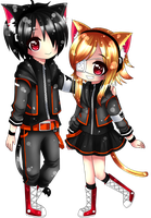 AT : Kuro N Arika by MilkyWay-Galaxy