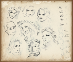 OUaT - ladies - practice by ILLanthan