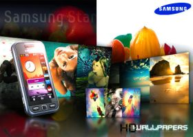 Samsung Star 10HD Wallpapers by drsouvikkumar