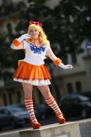 Sailor Venus Glimmer Glitter by BellaHime