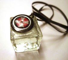 Umbrella Corp Pendant by ldhenson