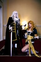 castlevania - alucard x maria by beautifully-twisted