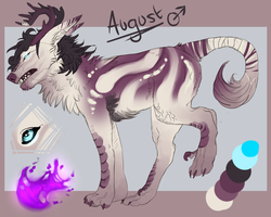 August Reference sheet by JACARIUS