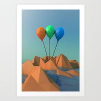 BALOONS - Poster by loxfear