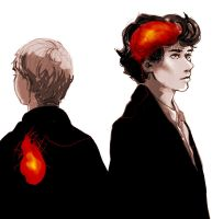 Sherlock: the heart and the brain by Devilissh
