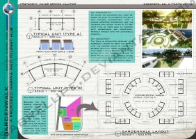 A Proposed GardenWalk Commercial Complex by sabrelupe