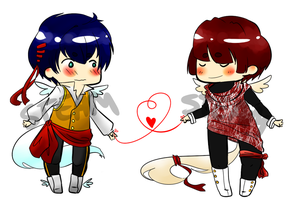 Heartstring Angel Adopts [CLOSED] by Steam-Adoptables
