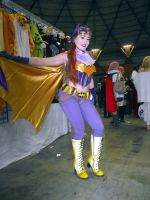 Bombshell Batgirl Cosplay at 2014 Sydney Supernova by rbompro1