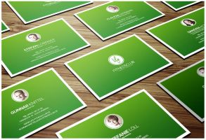Fitness Business Cards by DOMDESIGN