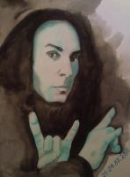 Ronnie James DIO by XkrkX