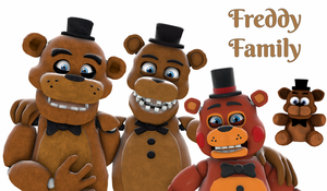 Freddy Family by ChicaChickson