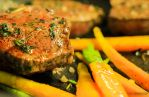 Steak with carrots by MariusDobrescu