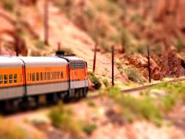 Toy Train by aseaofflames