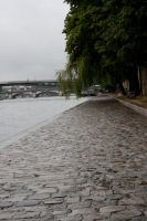 By the Seine Stock by Sheiabah-Stock