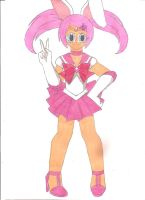 Sailor Easter Bunny by animequeen20012003