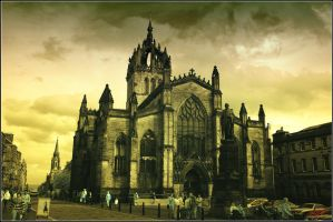 Saint Giles Cathedral by neoxavier