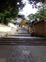 Little Street in Nara by Rea-the-squirrel