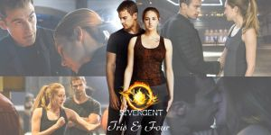 Divergent Tris and Four Wallpaper by nickelbackloverxoxox