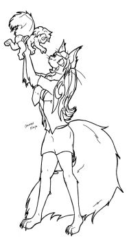 For Cassy, lineart by candychic125