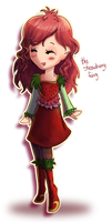 The Strawberry Fairy by AngieMyst