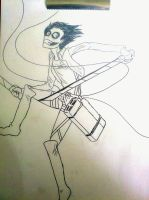 Jeff the killer of titans XD by Bawaria