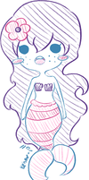 Flower-for-a-ghost commission chibi by keiser-roll