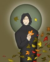 Autumn Snape by usagistu