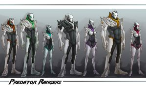 :WWP: Predator Rangers line up by Tyshea