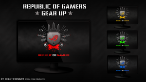 Republic Of Gamers  [Gear Up From EVGA] by BeautyDesignz