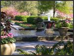 Garden Fountain by wulfster