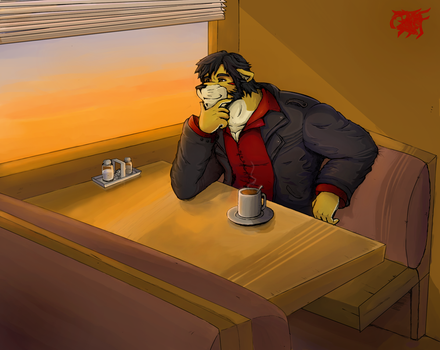 Sunrise Coffee by BloodThirstyfang