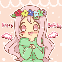happy birthday momoi!! by s-haa