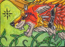 ACEO - Sunbound by awaicu