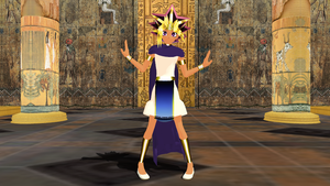 MMD Pharaoh Atem by Eripmav-darkness
