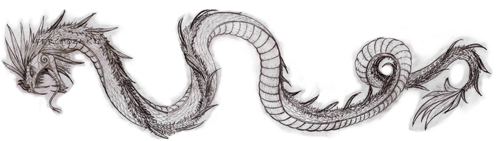 Quetzalcoatl Tattoo Design by Ferchozaki