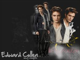 Wallpaper Edward Cullen I by NessaSotto
