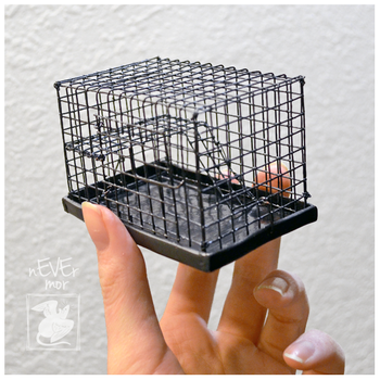 Dime Rat Cage by nEVEr-mor
