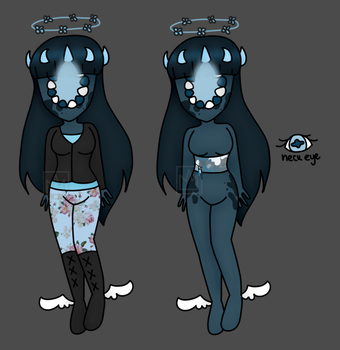 Everything Is Blue Anima Adopt Revealed by Ladyadorkable