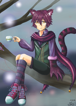 Cheshire Cat by AnimaRosaceae