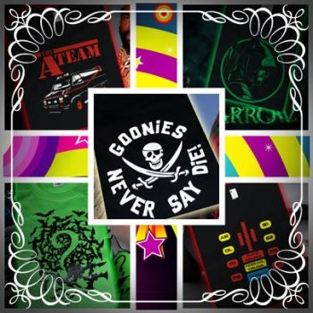 T shirts Various 01 by GraphicPlanetDesigns