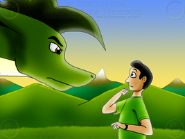 Michael Meets Michael by Mike-Dragon