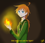APH Eire the mage by IrishAly