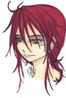 Young Kurama Colored by The-Insomiac-Artist