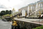 Peterhof Fountain near St Petersburg 2 by wildplaces